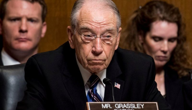Chuck Grassley is Accusing Not Kavanaugh But One of His Accusers of Lying
