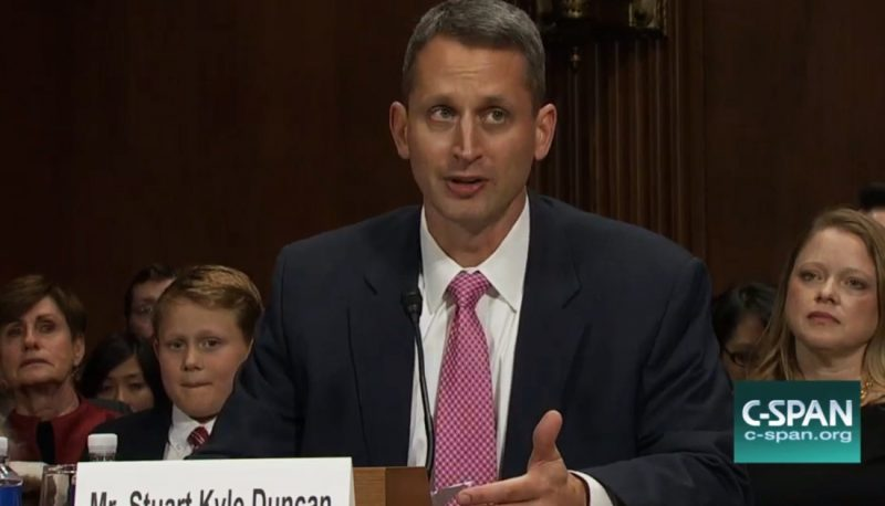 Image for Trump Judge Kyle Duncan Gratuitously Demeans All Transgender People: Confirmed Judges, Confirmed Fears