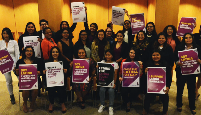 Image for Latinas Bring Power to Equal Pay Day Summit