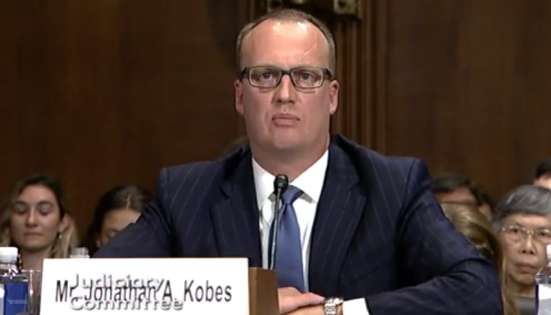 Image for Senate Must Not Confirm Judicial Nominee Jonathan Kobes Given His Disturbing ABA Evaluation