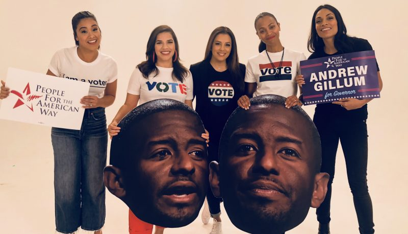 Image for Latinos Vote! Releases Ad Featuring Latina Celebrities to Get Out the Vote
