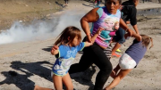 People For the American Way's Latinos Vote! Ad Links Teargassing of Child Asylum Seekers to 2020 Vote