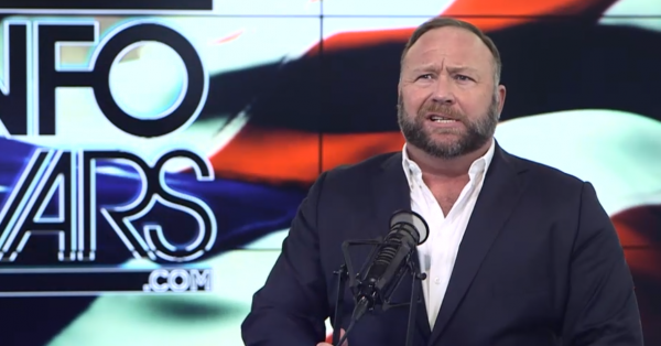 Alex Jones Says Trump Will 'Strike Back Against the Pedophile Rings' in 2019