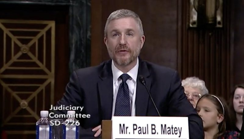 Judicial Nominee Paul Matey Exemplifies the Breakdown of Bipartisan Norms in the Senate