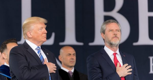 Falwell's New Year Boosterism: Evangelicals Will Stick With Trump No Matter What
