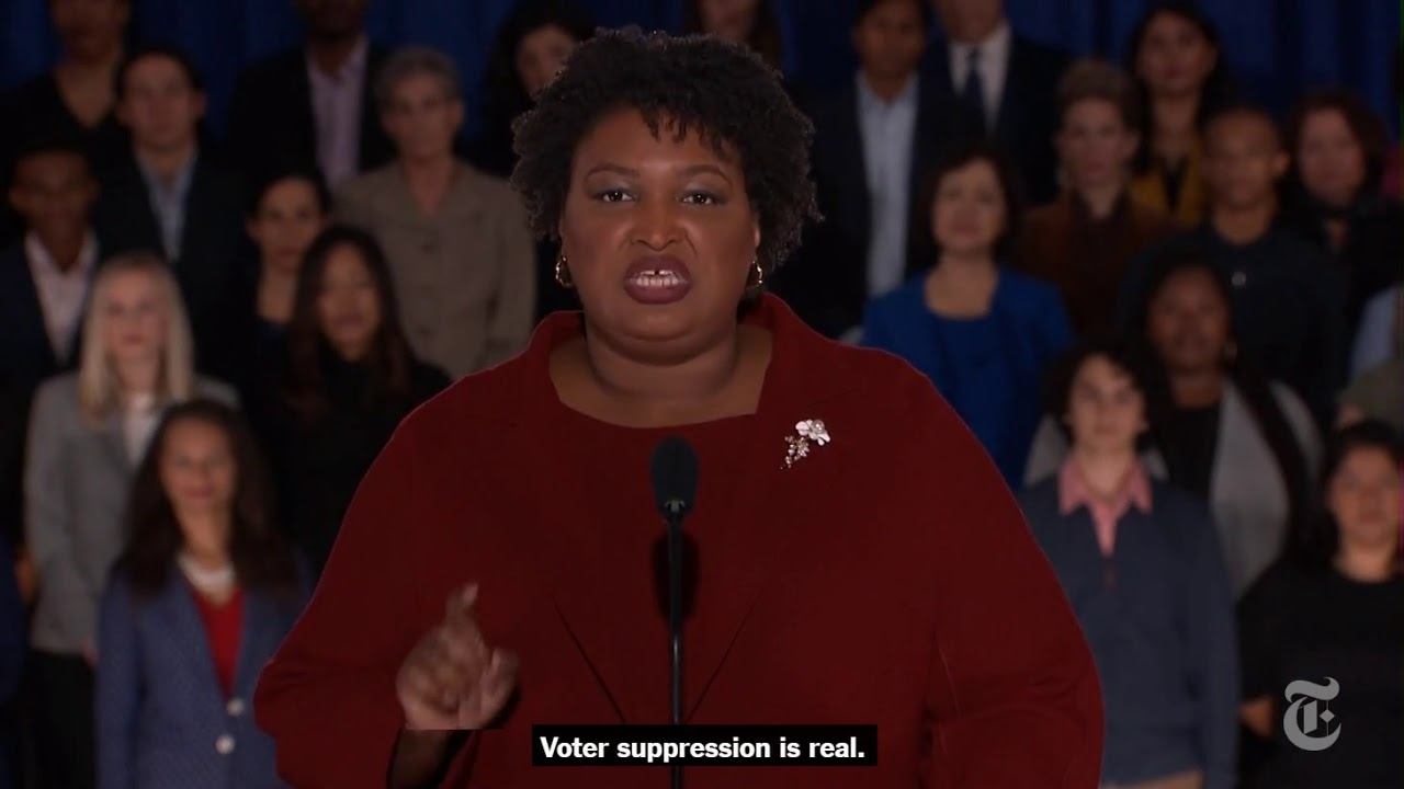 Stacey Abrams Starts a Conversation About One of the 2020 Primary's Most Pressing Issues: The Supreme Court