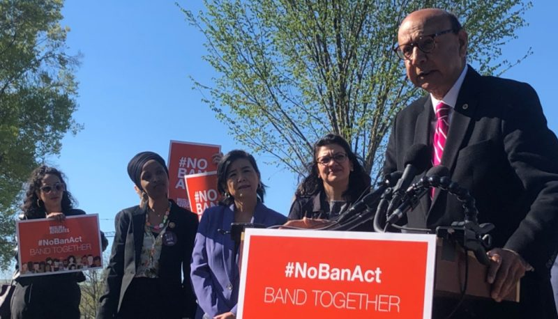 Khizr Khan and Progressive Groups Call on Congress to Pass the #NoBanAct