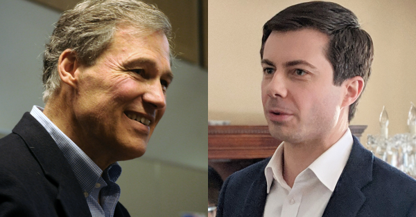 Buttigieg and Inslee Discuss Their Ideal Judicial Nominees