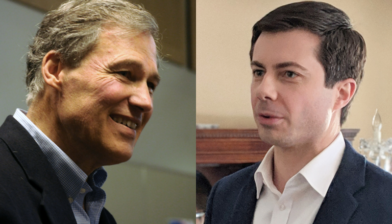 Image for #VoteTheCourts2020: Buttigieg and Inslee Discuss Their Ideal Judicial Nominees