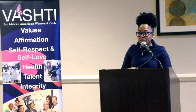 Challenging the Invisibility of Black Women: A Speaker at the VASHTI Convocation