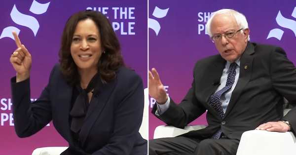 Sanders and Harris Discuss the Courts at She the People