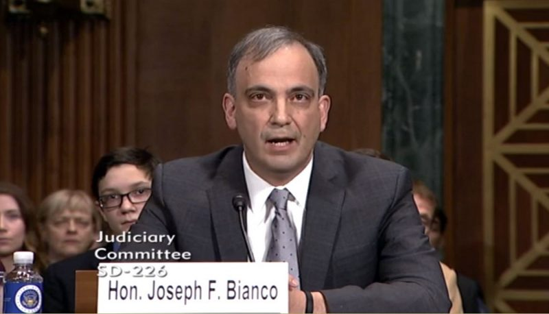 Image for Confirming Judicial Nominee Joseph Bianco Would Represent a Dangerous Shift in Our Legal, Political, and Cultural Norms