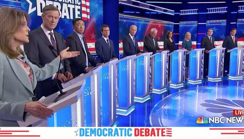 Image for Democratic Debates Covered Immigration, Abortion, Health Care. The Common Thread is Our Courts.