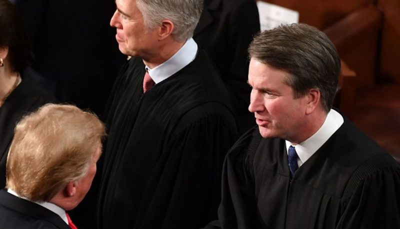Image for Confirmed Judges, Confirmed Fears: Kavanaugh and Gorsuch Cast Deciding Votes to Overrule Another Precedent, Both Harming Local Government and Endangering Roe v. Wade