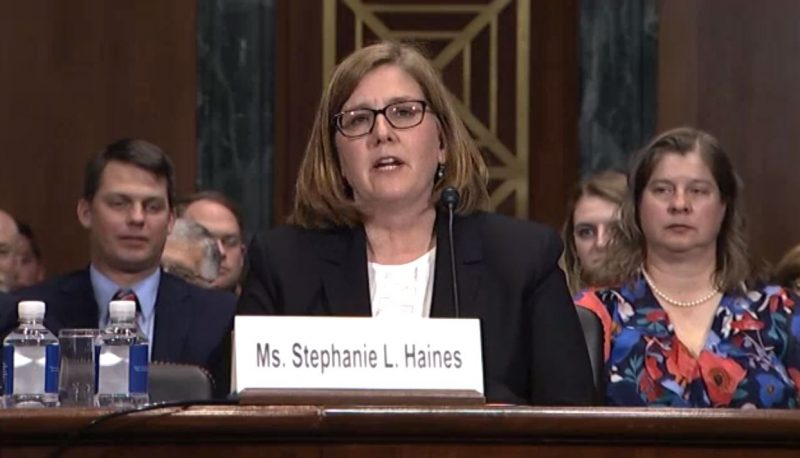 Image for Judicial Nominee Stephanie Haines' Testimony Suggests Anti-Trans Bias