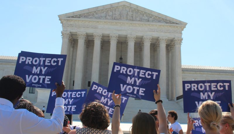 Image for PFAW and Allies Rally as the Supreme Court Rules on the Census Citizenship Question
