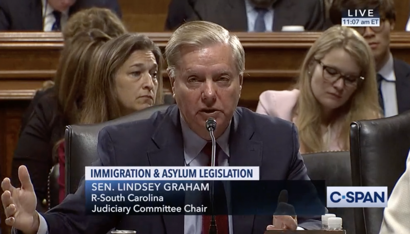 Image for Lindsey Graham Opens a New Frontier of Lawlessness