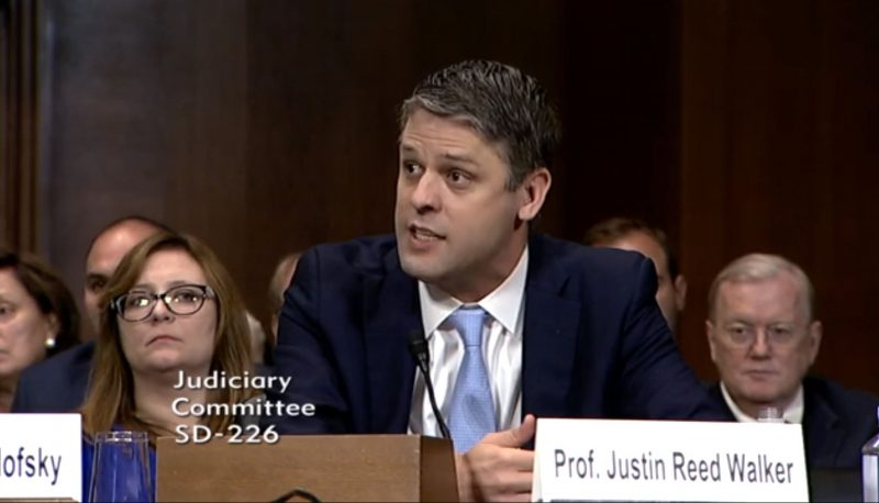Justin Walker Shares an Agenda with Brett Kavanaugh and So Many Other Trump Judicial Nominees