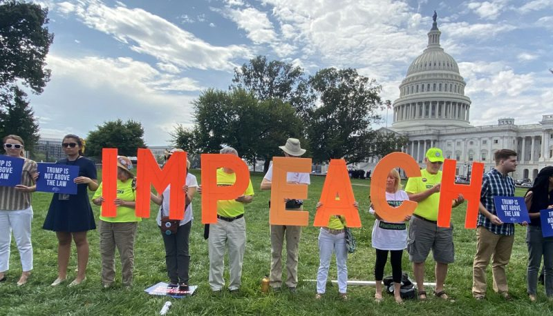 Image for Impeachment Kicks Off At The Capitol