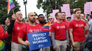 PFAW and Allies #RiseUpOct8 and Rally Outside SCOTUS Building to Protect LGBTQ+ Workers