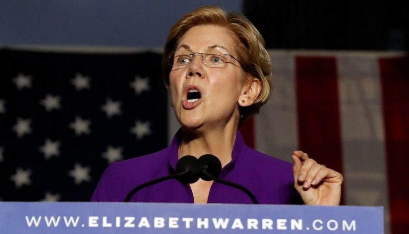 Image for #VotetheCourts2020: Elizabeth Warren Calls Out Corruption in the Courts