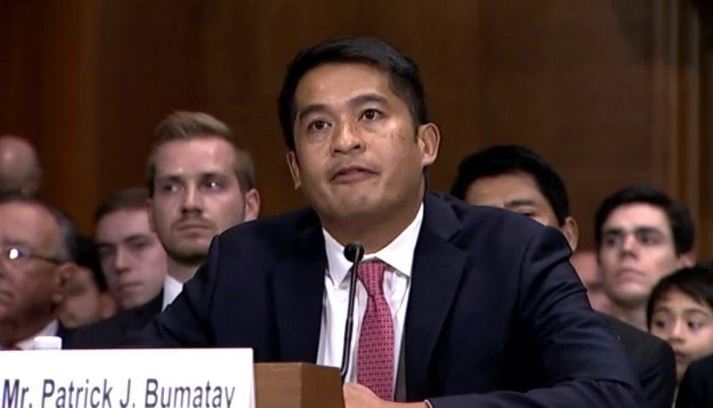 California Senators Say NO to Ninth Circuit Judicial Nominee Patrick Bumatay