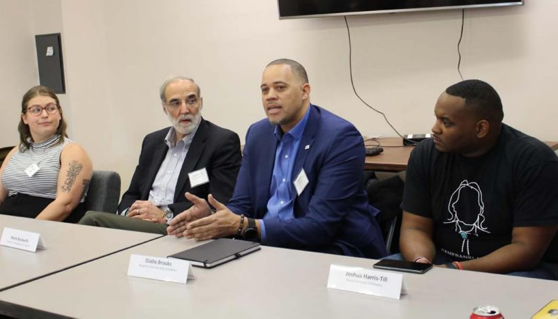 Diallo Brooks Speaks on Panels on Gun Violence Prevention and Protecting Our Courts
