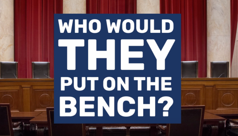 #VoteTheCourts2020 Launches Campaign Video