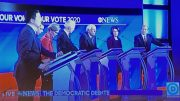 Democratic Presidential Candidates Address Courts and Abortion at February Debate