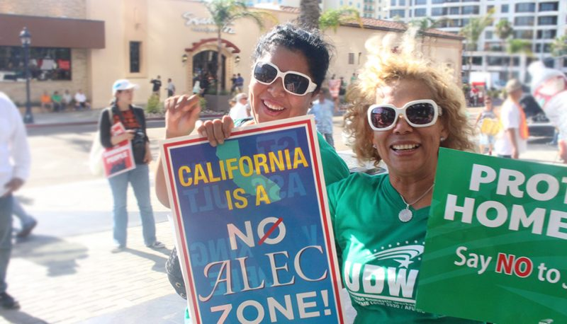 Image for No to ALEC: California Fights Back