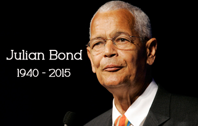 Image for PFAW Mourns Julian Bond, Civil Rights Icon and Longtime Board Member