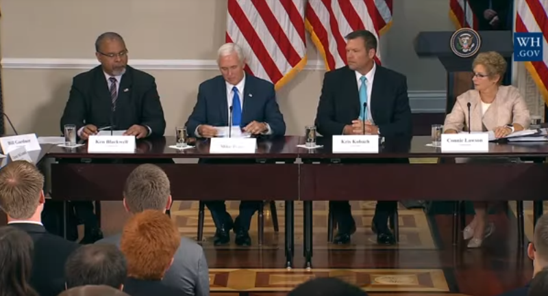 Uncovering the Sham in Trump's Voter Suppression Commission