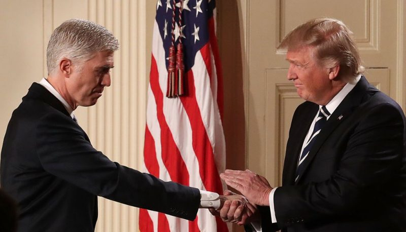 The Bogus Argument that Gorsuch Will Stand Up to Trump Abuse of Presidential Authority