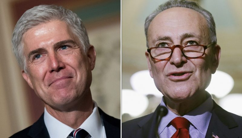 Schumer Rightly Asks GOP: Why the Rush on Gorsuch?
