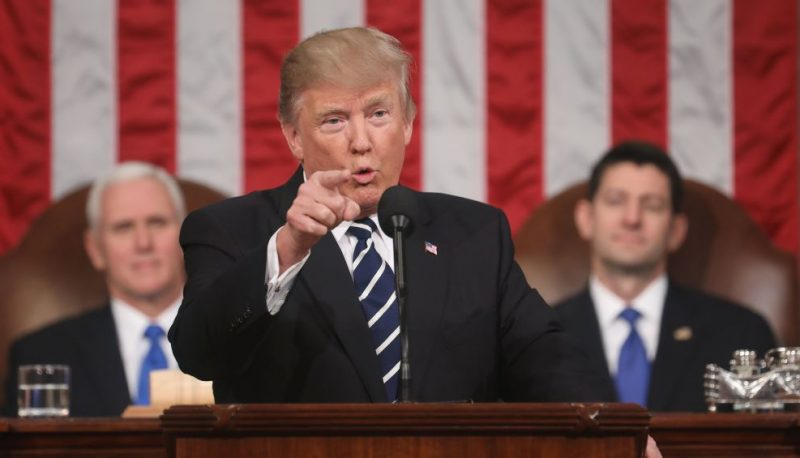 """Trump's """"More Presidential"""" Speech to Congress is Just Hate, Rebranded"""
