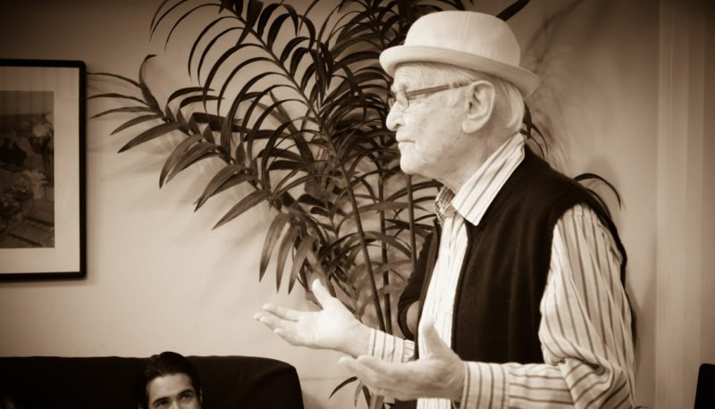 Image for Founder Norman Lear at 99: Protect Voting Rights Now