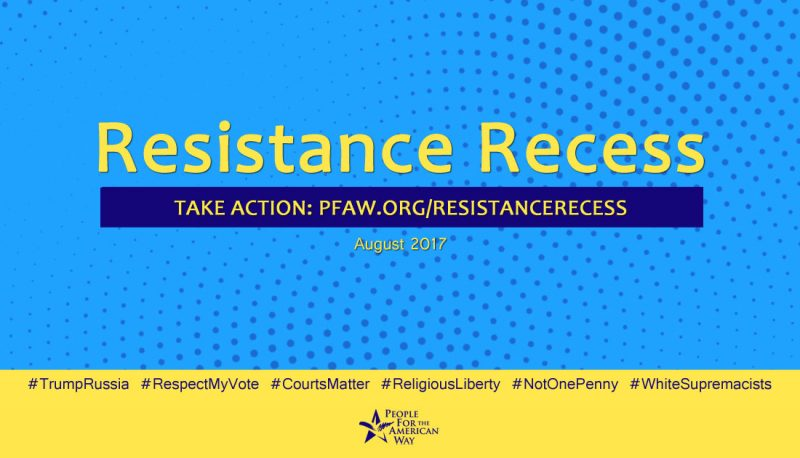 PFAW Grassroots Guide to Resistance Recess