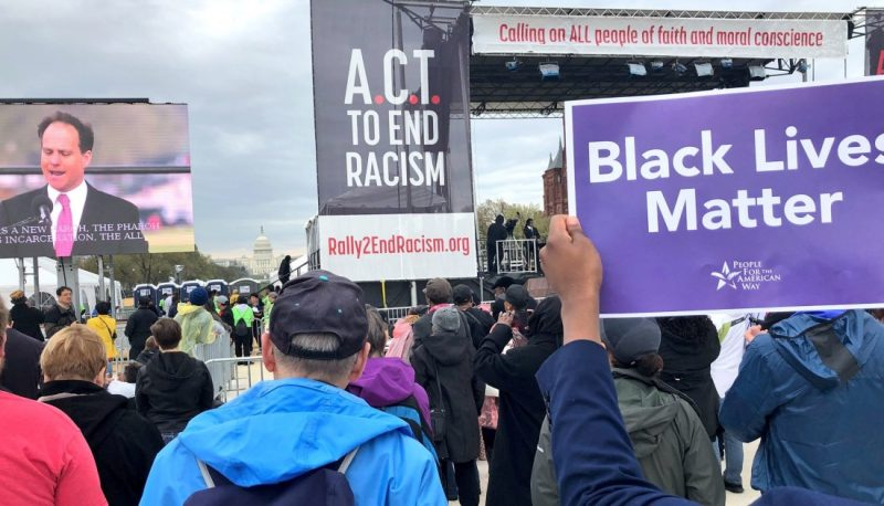 People For Joins ACT Rally to End Racism