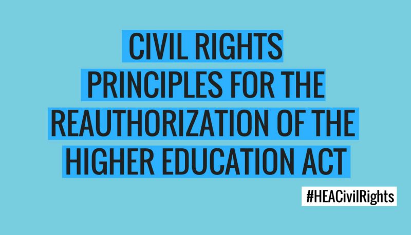 Image for PFAW Supports Civil Rights Principles for Higher Education Act Reauthorization