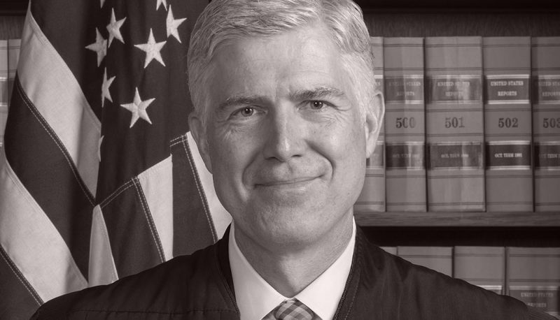 Image for Gorsuch Tried to Make Unjustified Police Shootings Constitutional If the Victim Gets Away: Confirmed Judges, Confirmed Fears