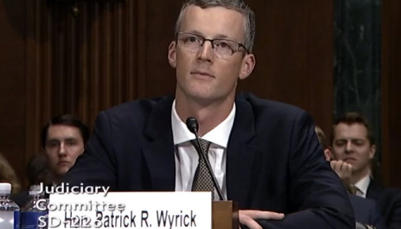Patrick Wyrick's Presence on Trump's SCOTUS List Raises Deep Concerns about His District Court Nomination