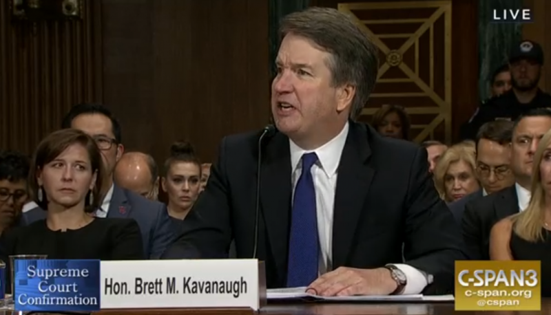Brett Kavanaugh Unleashes Partisan Fury During Senate Hearing