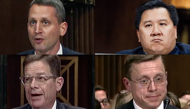 Confirmed Judges, Confirmed Fears: Four Trump Circuit Judges Try to Reverse Injunction Against Law Criminalizing Threats of Even Legal Action Against Public Officers