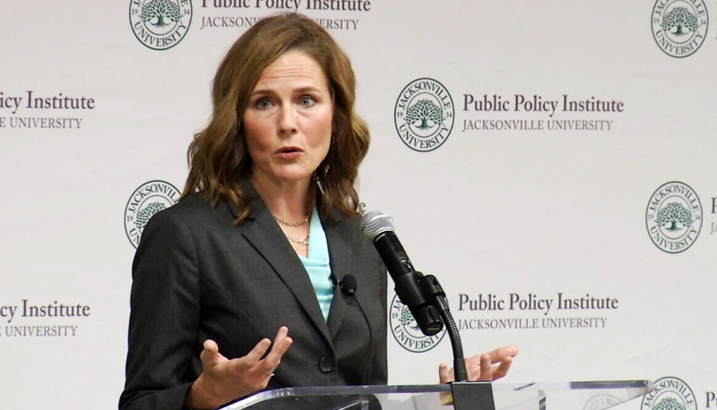Image for Amy Coney Barrett Has No Business Ruling in This Election