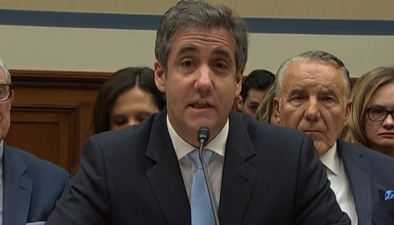 Image for Michael Cohen Testimony Provides Further Evidence of Trump's Crimes