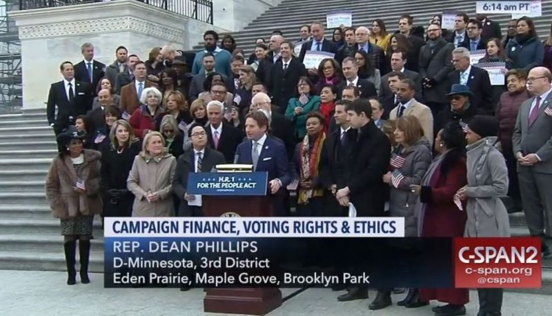 PFAW Joins Coalition of Activists on Capitol Hill as the For the People Act Passes the House