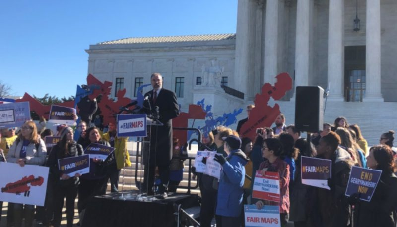 PFAW Joins Coalition of Activists at the Supreme Court to Rally Against Gerrymandering