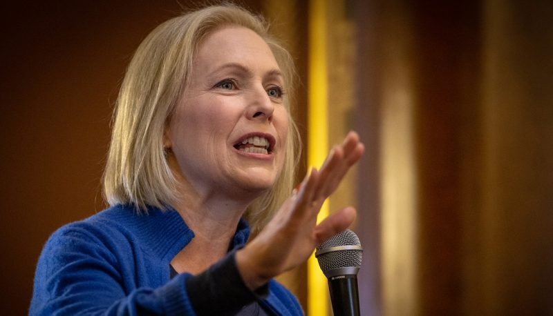 Image for #VoteTheCourts2020: Gillibrand Pledges to Nominate Judges Who Will Uphold Roe v. Wade