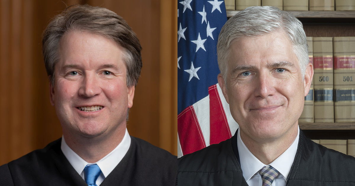 Gorsuch, Kavanaugh Vote to Allow States to Set Restrictive ...