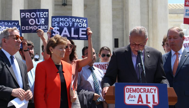 Image for Democracy For All Amendment Reintroduced by Senators Udall and Shaheen